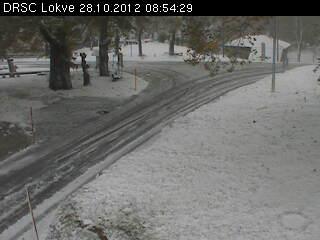 Lokve neve la mattina del 28 ottobre 2012