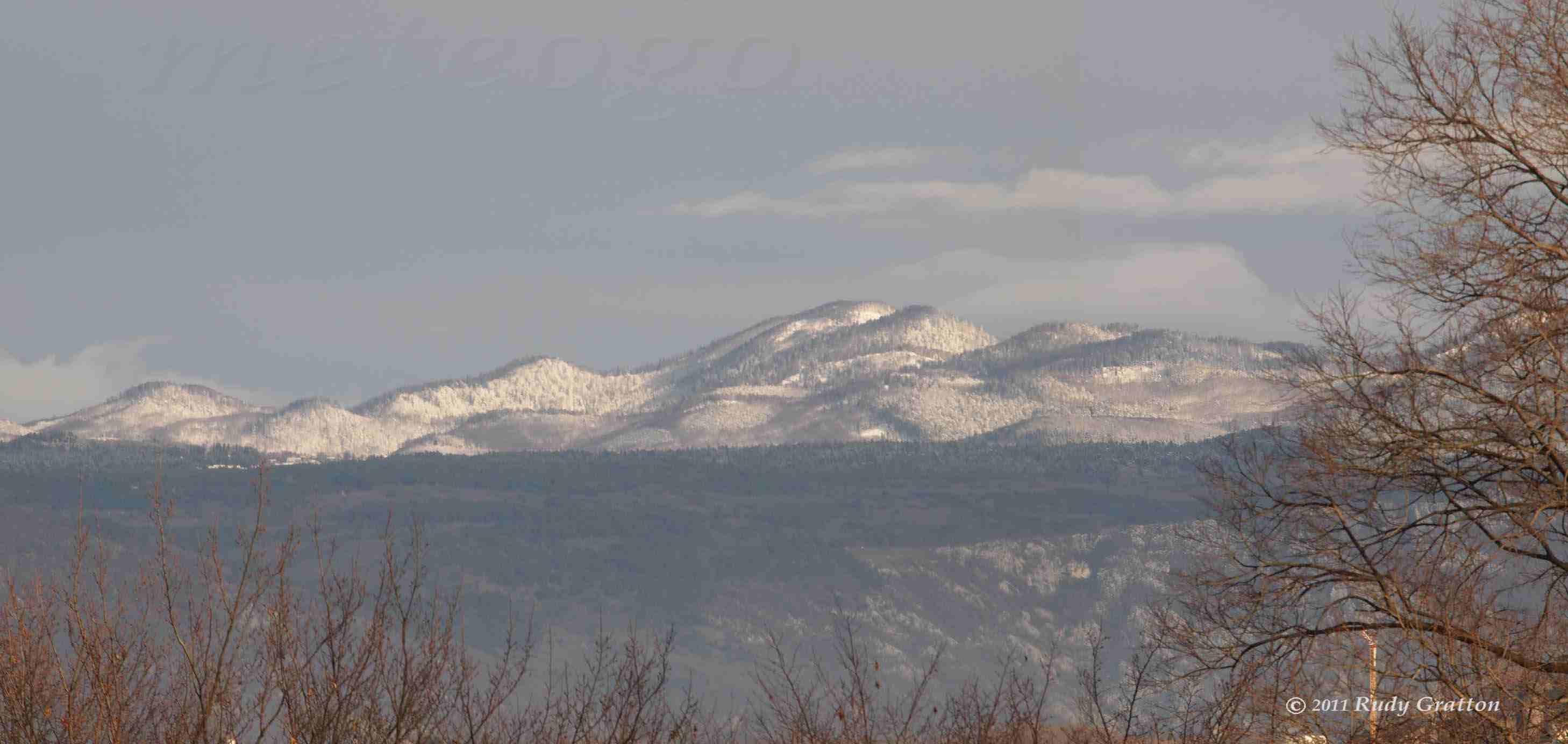 foto panorama neve