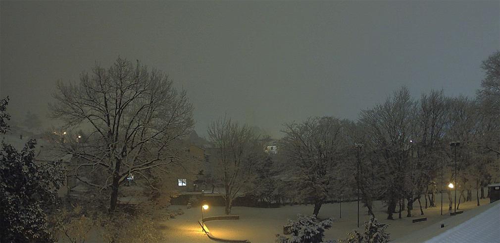 nevicata Gorizia