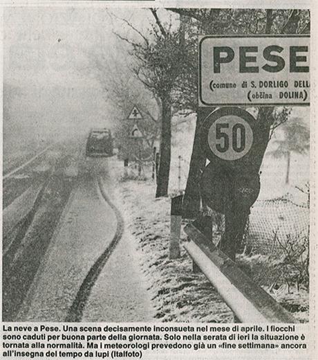 Pese aprile 1991