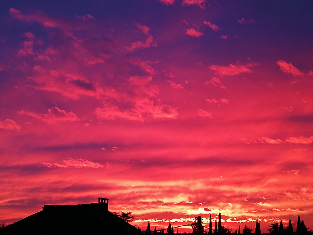 tramonto gorizia