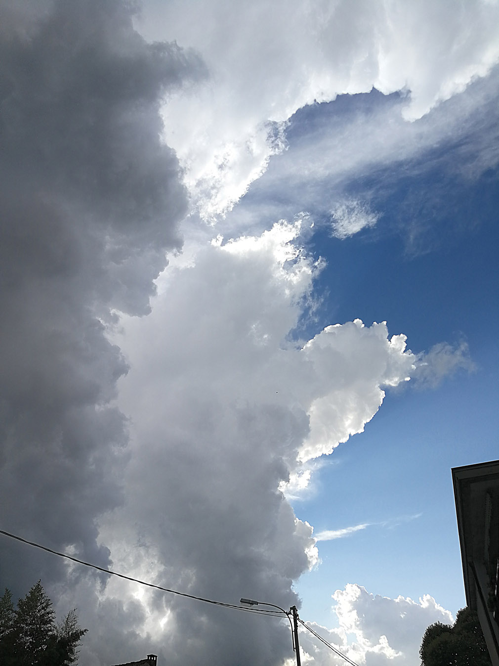 nubi torreggianti