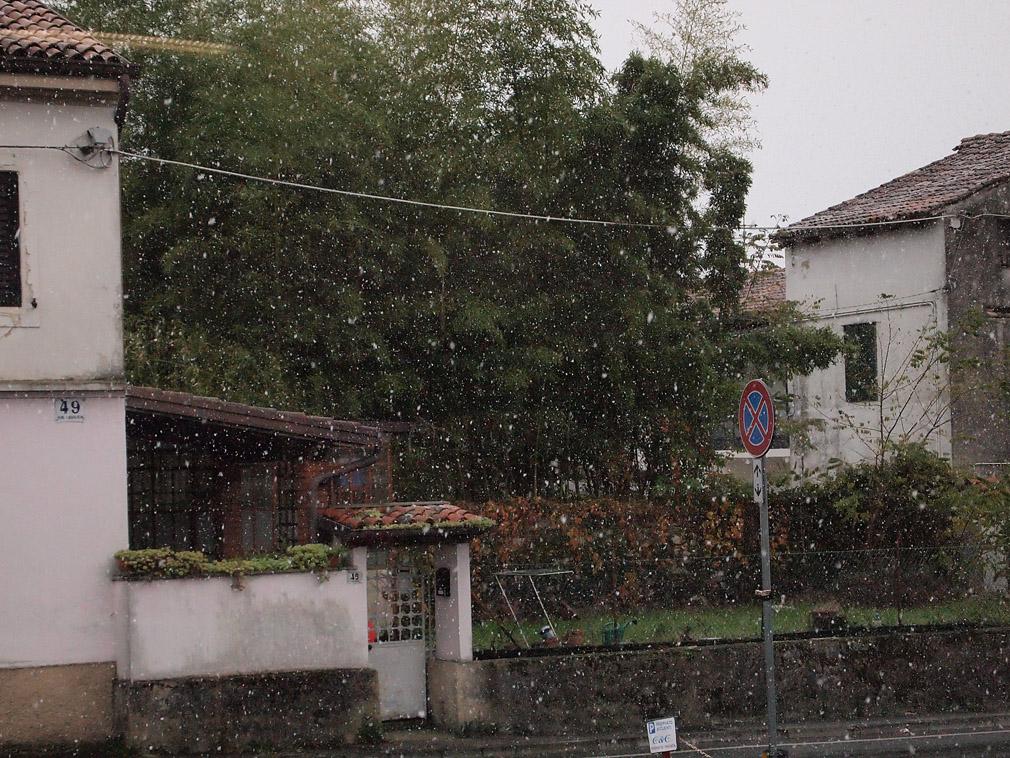neve Gorizia 2 dicembre