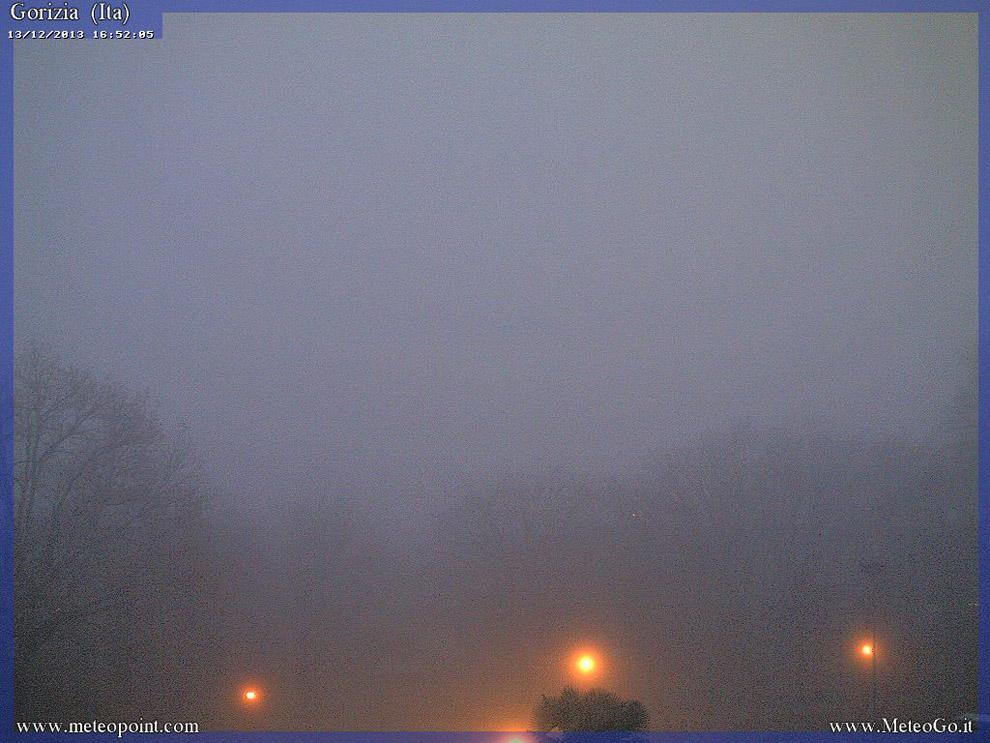 nebbia Gorizia