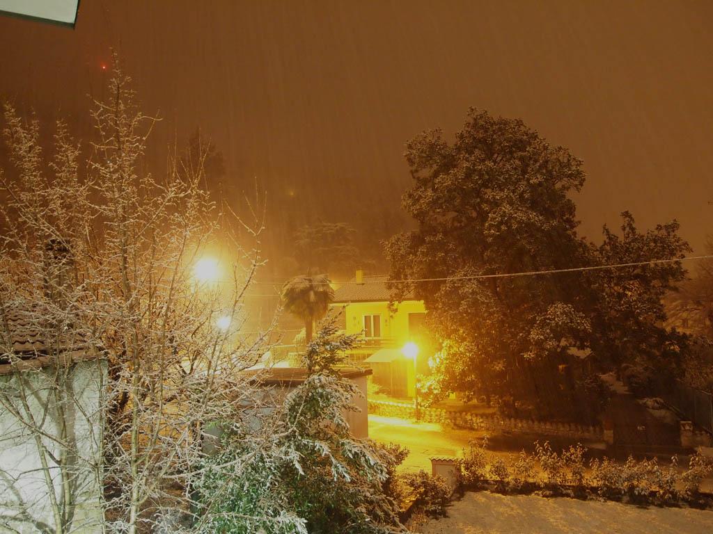 neve gorizia sera
